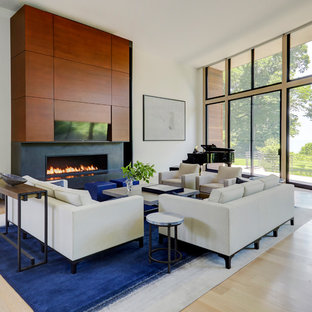 Magnificent 75 Beautiful Living Room With A Music Area Pictures Ideas Download Free Architecture Designs Grimeyleaguecom