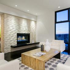 Contemporary Living Room by Ryan Rhodes Designs, Inc.
