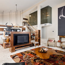 Contemporary Living Room by Jodie Cooper Design