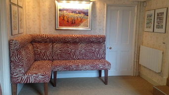Re-upholstery of furniture