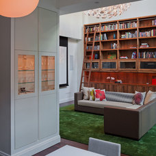 Eclectic Living Room by Mabbott Seidel Architecture