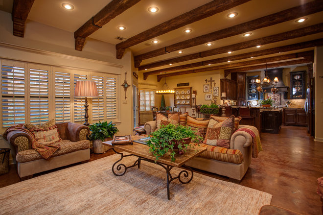 Traditional Living Room by MLBaxley Photography
