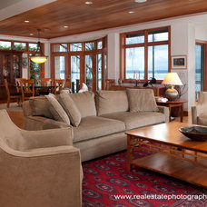 Traditional Living Room by Jesse Young Property and Real Estate Photography
