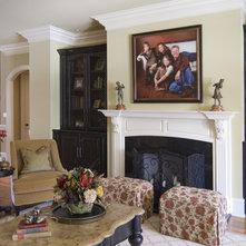 traditional living room by carolina design associates llc: living room carolina design associates