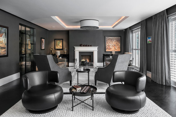 Contemporary Living Room by Jonathan Little Photography
