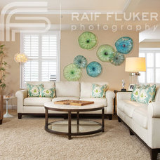 contemporary living room by Raif Fluker Photography