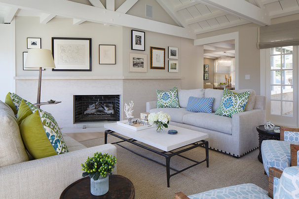 Room of the day a living room designed for conversation for Interior design living room transitional