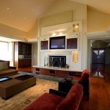 Modern Living Room by High Definition Home