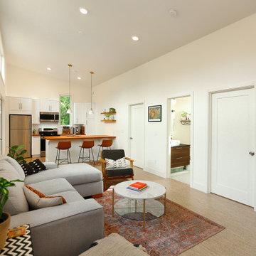 Reclaimed Backyard Cottage
