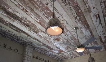 Reclaimed Barnwood Ceiling