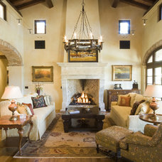 Rustic Living Room by Reclaimed DesignWorks