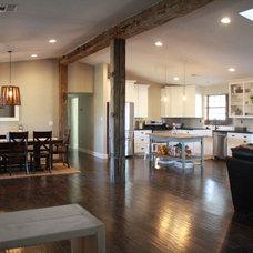 Traditional Living Room by Porter Barn Wood LLC