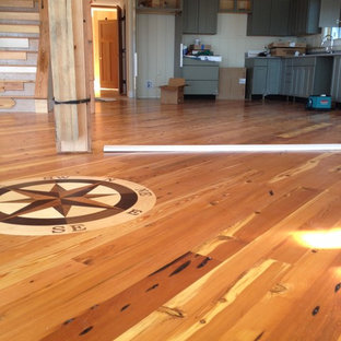 Reclaimed Heart Pine Flooring-Yarmouth Maine