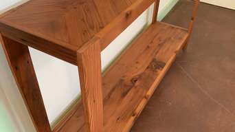 Reclaimed Redwood Console