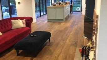 Reclaimed Wood-style Flooring, Chobham
