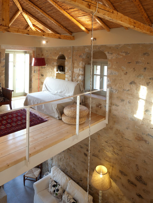 Cottage Loft Houzz