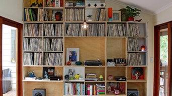 Record storage wall