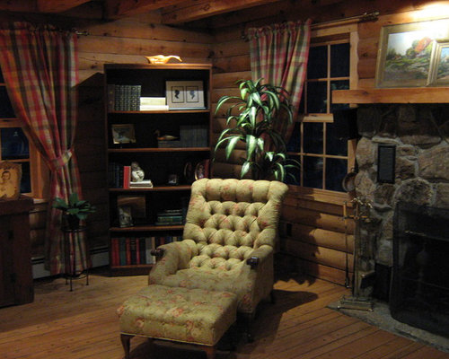 Log Cabin Living Room Ideas: Save Email