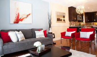 Red Accent Decor