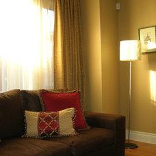 Eclectic Living Room by Studio NOO Design