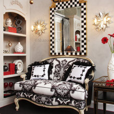 Traditional Living Room by Sharon McCormick Design