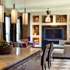 Contemporary Living Room by Christopher Lee & Company Fine Homes