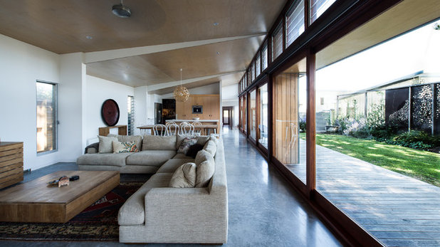 Contemporary Living Room by Bourne Blue Architecture