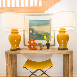 Inspiration for a beach style living room remodel in Los Angeles