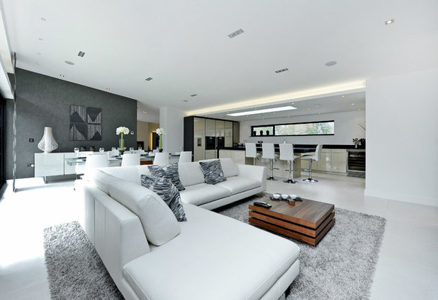 Contemporary Living Room by Jigsaw Interior Architecture