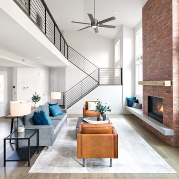 Refined Industrial House Remodel