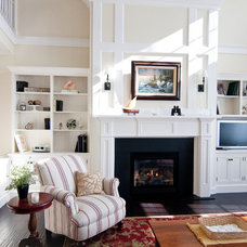 Traditional Living Room by Traditional Cabinetry LLC