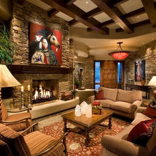 Traditional Living Room by Rondi - the art of space
