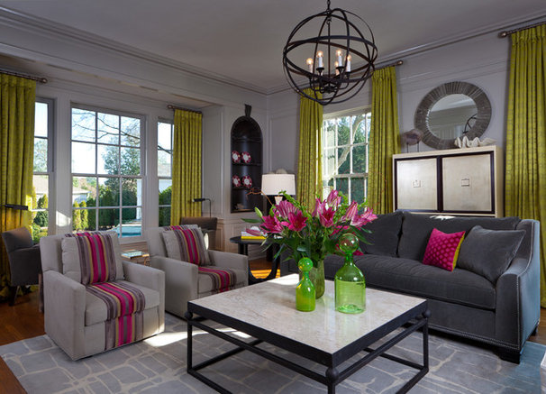 Modern Living Room by Beckwith Interiors