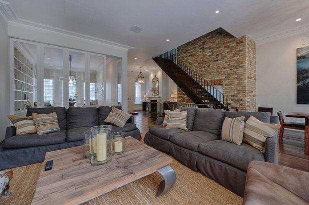 Contemporary Living Room by marco joe fazio photography