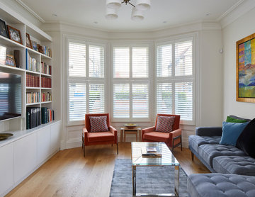 Refurbishment of a beautiful family townhouse in West London