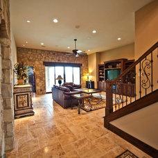 Mediterranean Living Room by JMC Designs llc