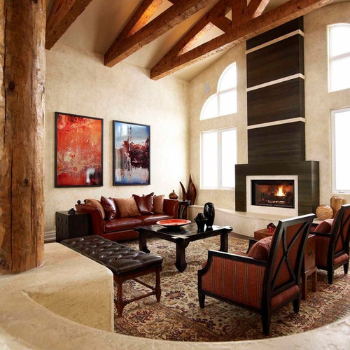 Modern Fireplace Surrounds Ideas, Pictures, Remodel And Decor
