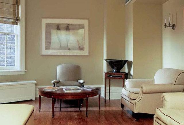 Traditional Living Room by Reginald L. Thomas Architect LLC.