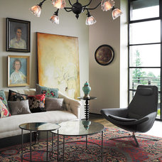 Eclectic Living Room by Rejuvenation