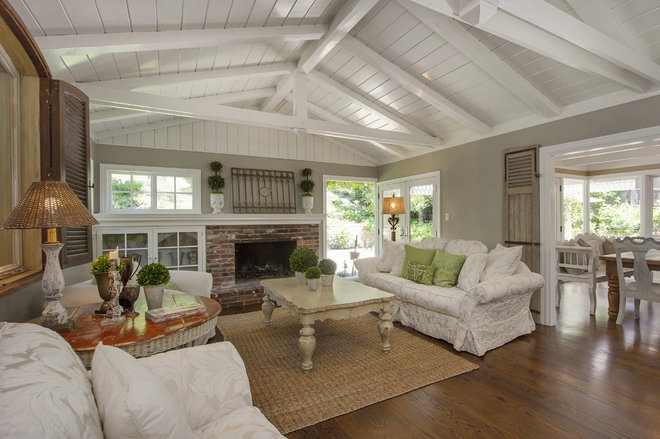 Traditional Living Room Remodeled Jack Marchant Homes in Lafayette CA