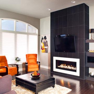 Remodeled Kitchen & Living Room