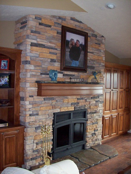 Traditional Living Room by Paul's Home Repair