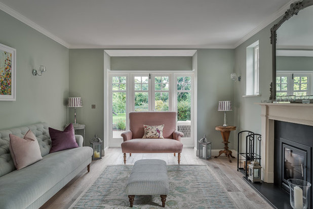 Traditional Living Room By Mark Hazeldine Photography