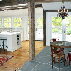 Farmhouse Living Room by Excelsior Wood Products, LLC