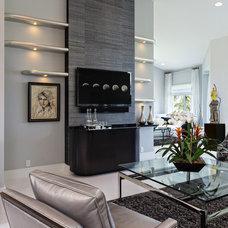 Contemporary Living Room by Deborah Freedman Design