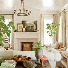 Farmhouse Living Room by Historical Concepts