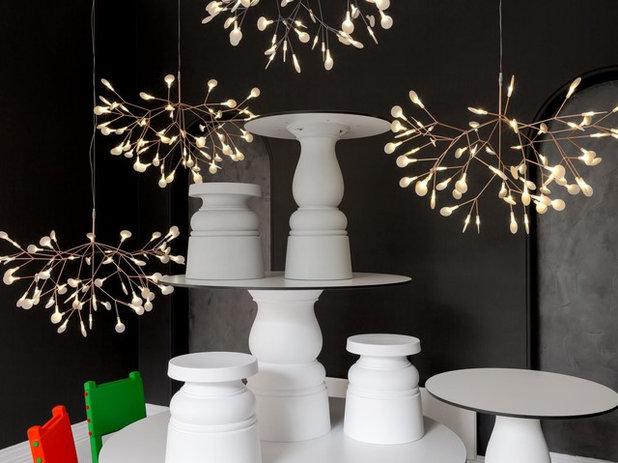 Modern Living Room by GoLights