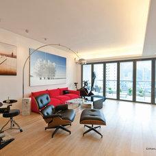 Modern Living Room by Clifton Leung Design Workshop - CLDW.com.hk