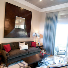Contemporary Living Room by DESIRED SPACE, LLC. | Planning & Design