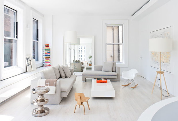 Scandinavian Living Room by Resolution: 4 Architecture